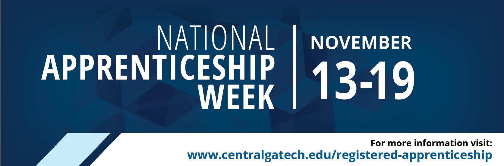 Join CGTC in celebrating National Apprenticship Week