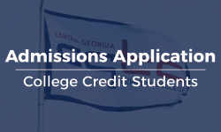 Admissions Application - College Credit Students
