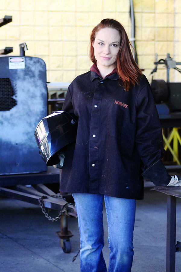 Janette DeVries was unable to separate types of wrenches, but is now confident in her welding abilities.