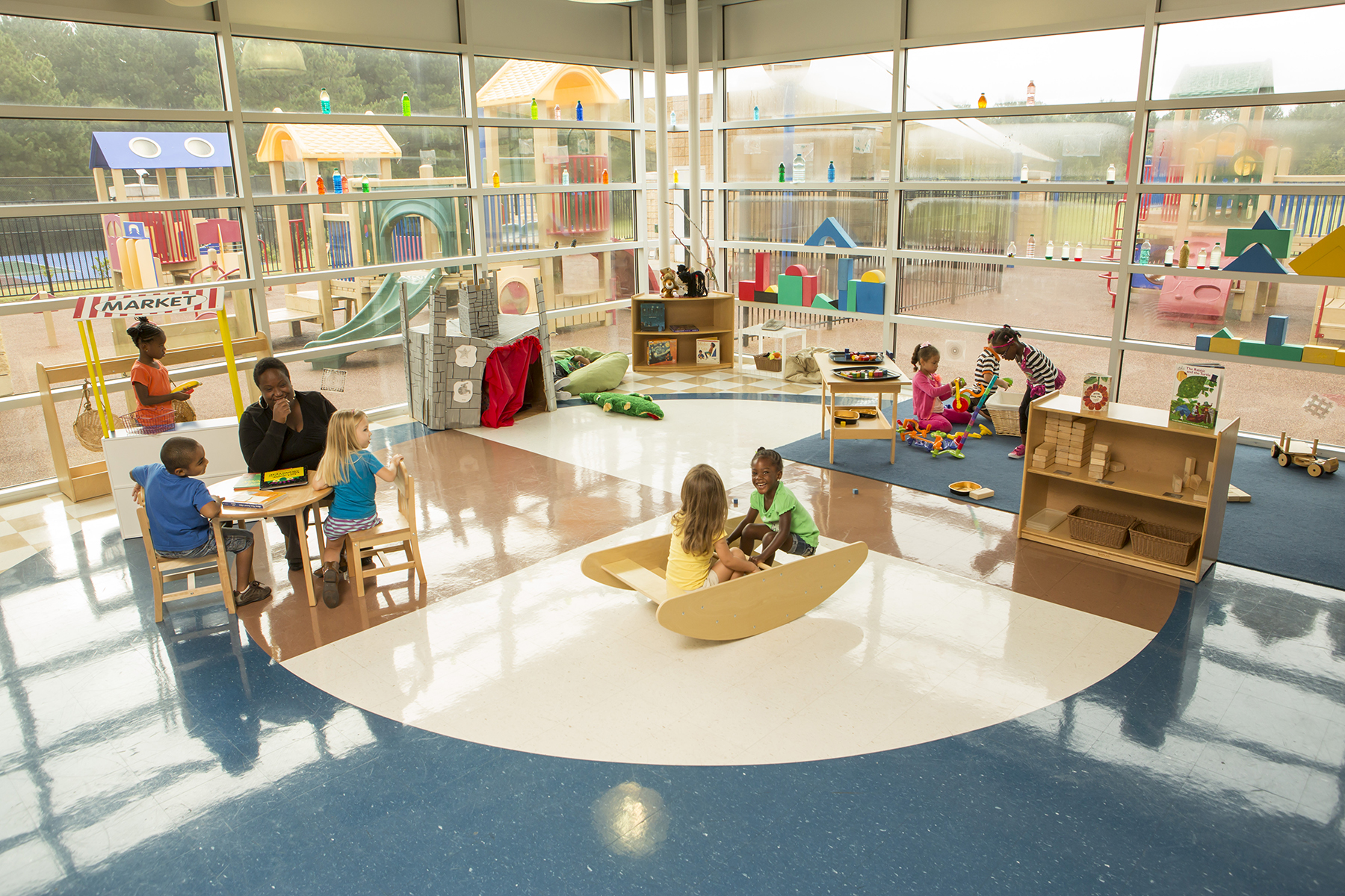 the Child Development Centers (CDC) on the College's Macon and Warner Robins campuses