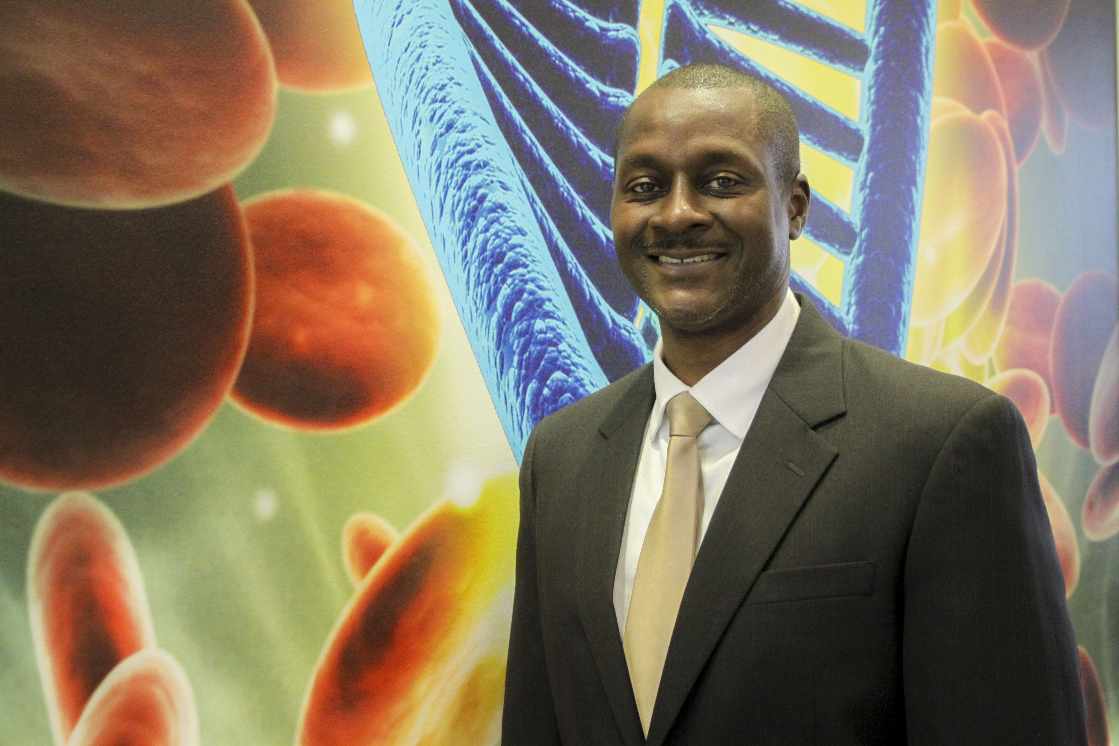 CGTC's new dean of Health Sciences, Dr. Alvin Harmon.