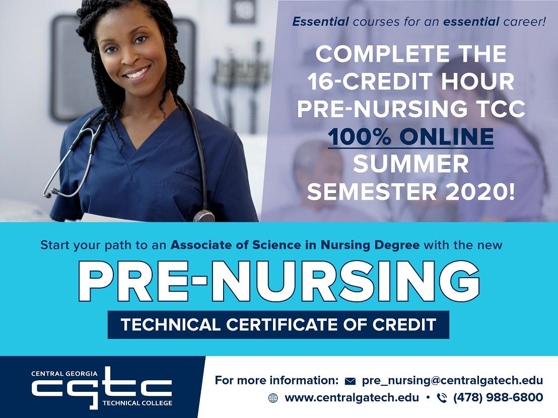 Pre-nursing graphic