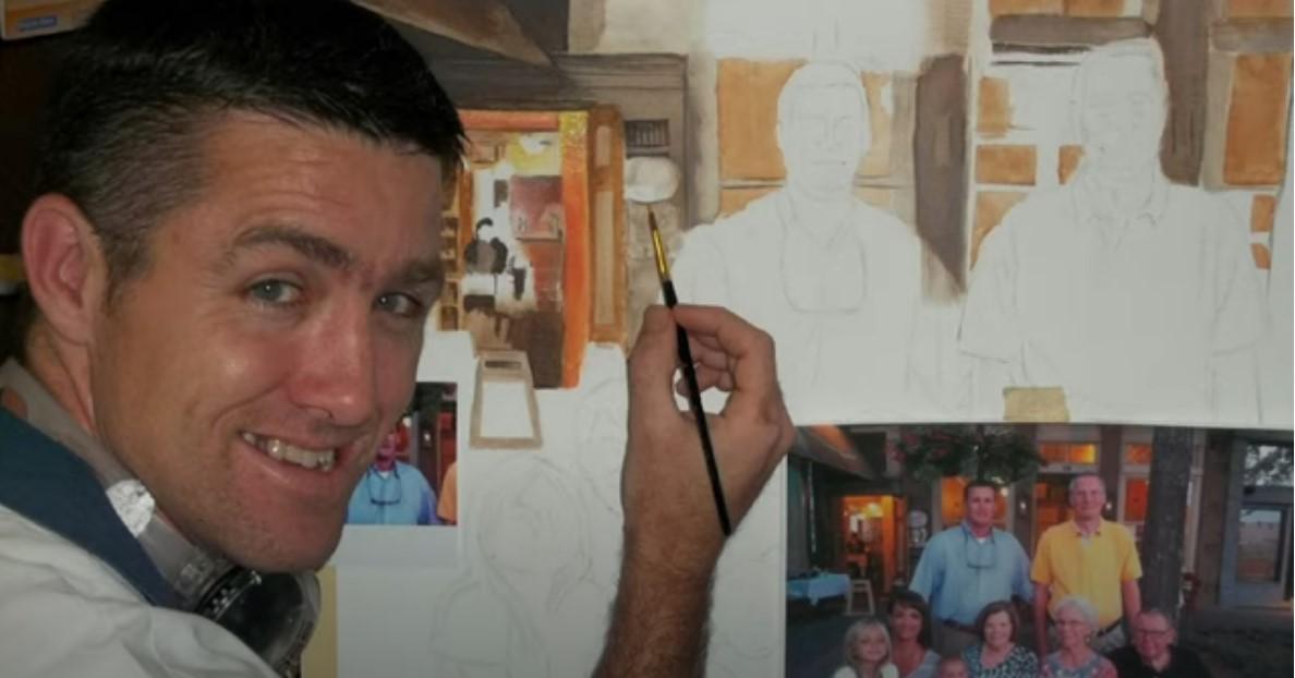 Screenshot of John Turner painting.