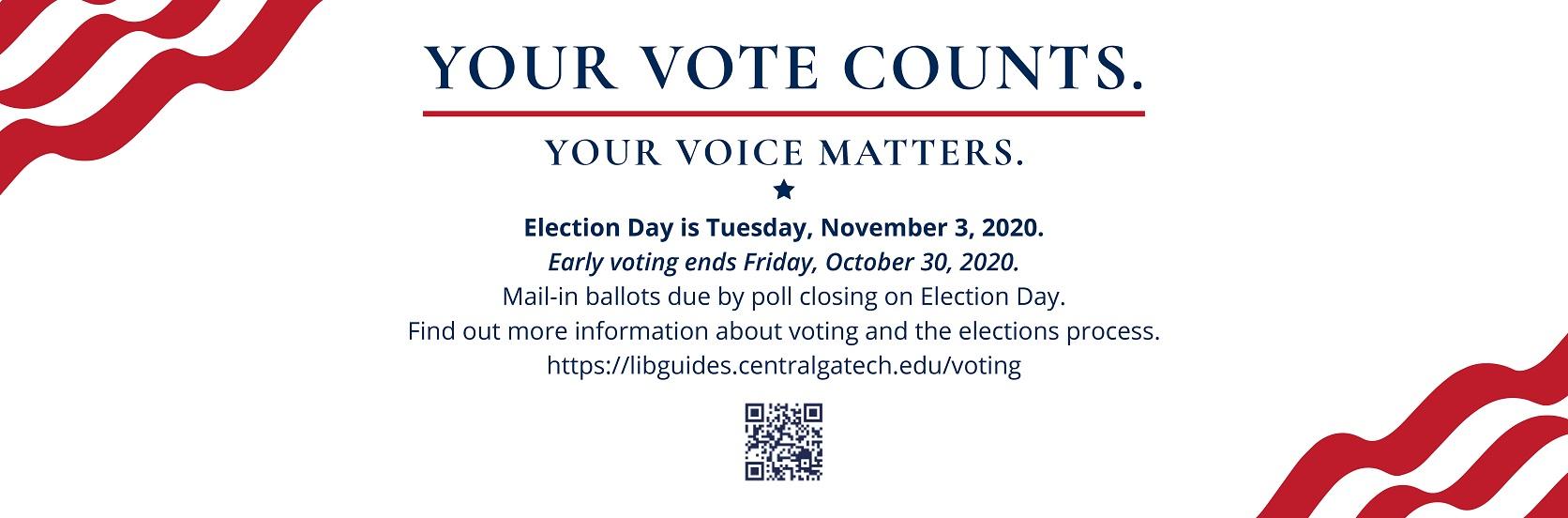 VOTE November 3.