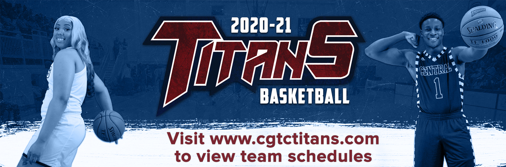 2020-21 Titans Basketball. Visit www.cgtctitans.com to view team schedules.