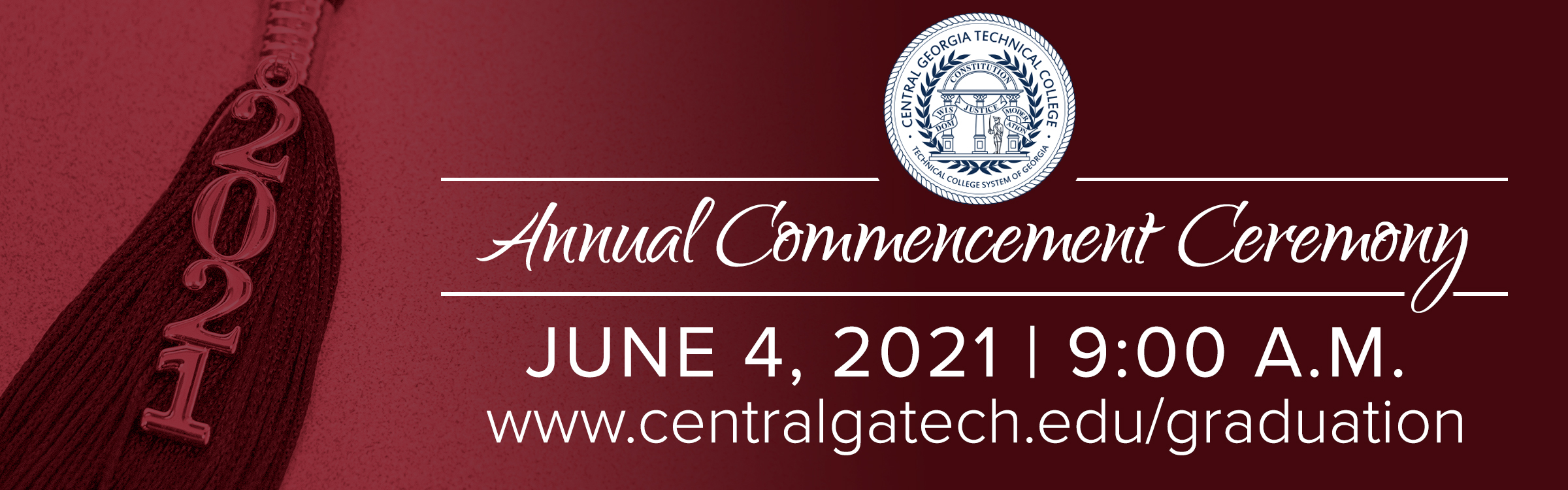 CGTC Announces In-Person Commencement Ceremony for June 4