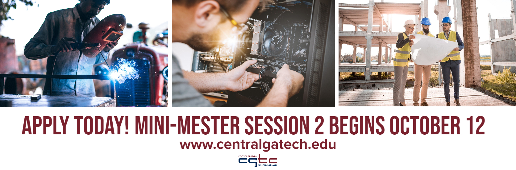 Apply Today. Mini-mester Session 2 Begins October 12.